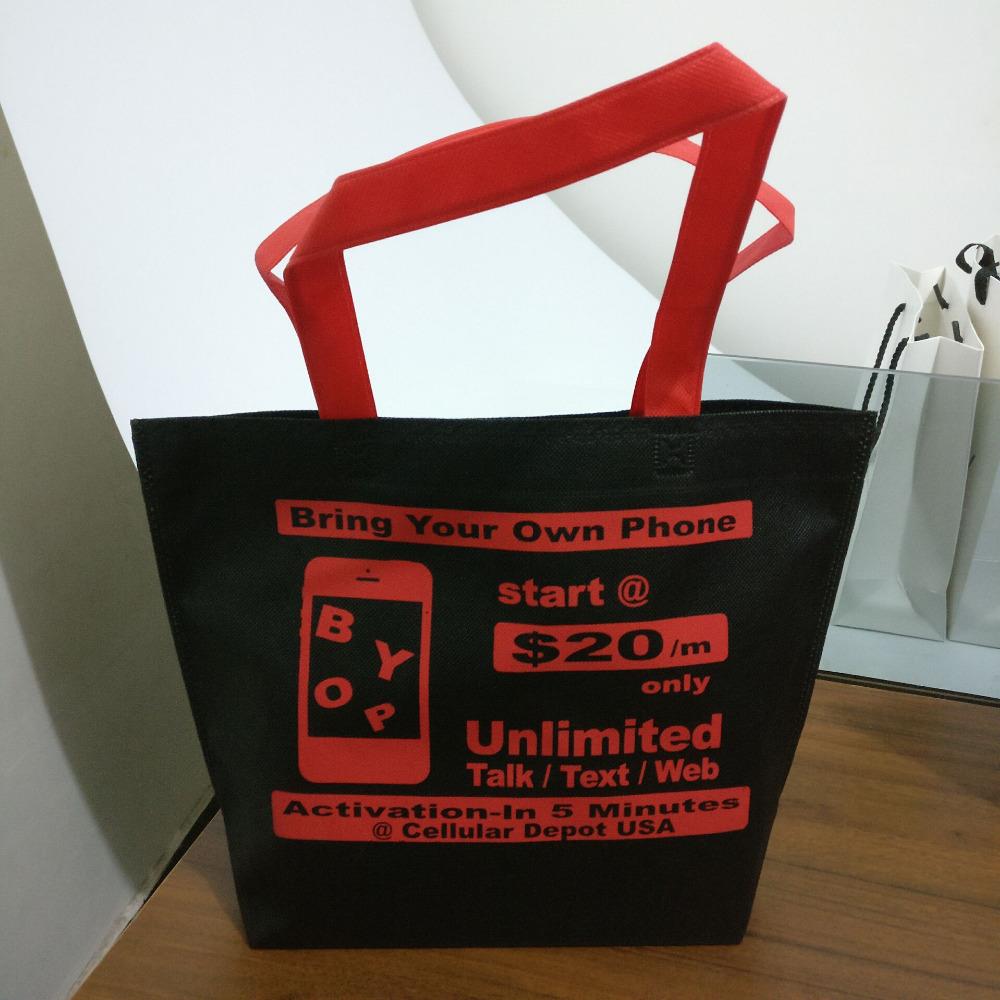 PP无纺布购物袋,促销袋,回收袋,礼品袋、环保袋